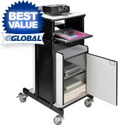 Best Value Projector Cart With Optional Cabinet