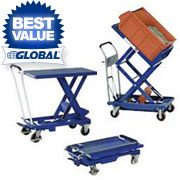 Mobile Scissor Lift Tables & Tilt Tables - Up To 1650 LB. Capacity