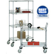 Nexelate Wire Shelf Trucks And Utility Carts