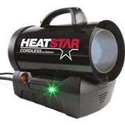 HeatStar Propane Fired Cordless Heater HSCLP 35 - 35000 BTU